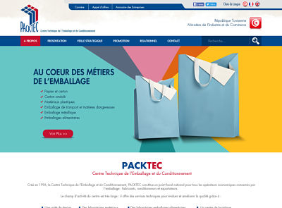 maquette PACKTEC