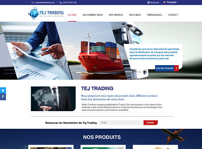 maquette TEJTRADING